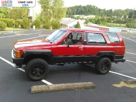 for sale 1986 passenger car toyota 4runner hurricane insurance rate quote price 5750 used cars. Black Bedroom Furniture Sets. Home Design Ideas