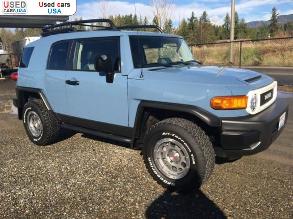 for sale 2014 passenger car toyota fj cruiser anatone insurance rate quote price 20500 used. Black Bedroom Furniture Sets. Home Design Ideas