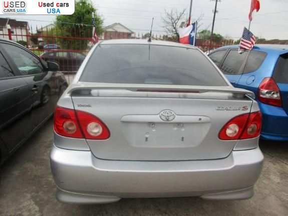 Houston Wholesale Cars Llc >> For Sale 2007 passenger car Toyota Corolla CE, Houston, insurance rate quote, price 6400$. Used ...