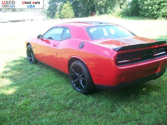 Car Market in USA - For Sale 2016  Dodge Challenger R/T