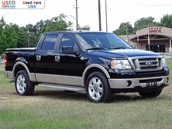 for sale 2007 passenger car ford f 150 f 150 lariat crew cab insurance rate quote price 3000. Black Bedroom Furniture Sets. Home Design Ideas