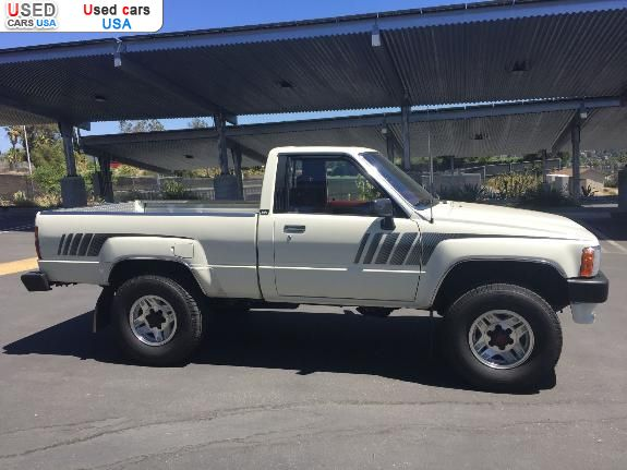 Car Market in USA - For Sale 1988  Toyota Pickup Truck SR5