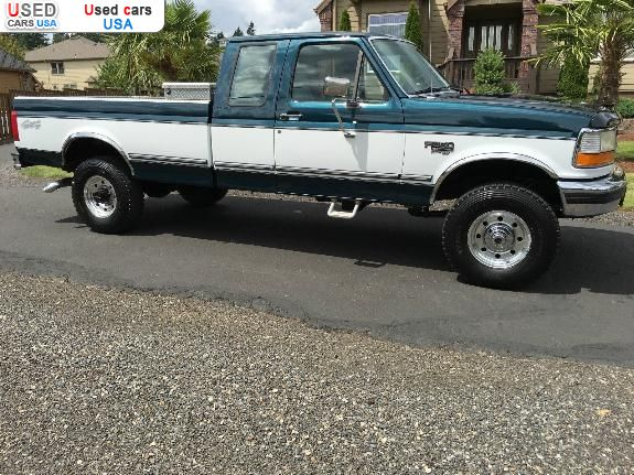 Car Market in USA - For Sale 1996  Ford F 250 F-250 XLT