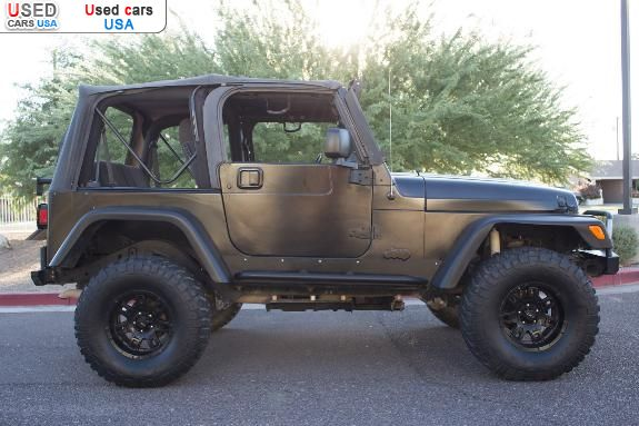 for sale 2004 passenger car jeep wrangler rubicon phoenix insurance rate quote price 13500. Black Bedroom Furniture Sets. Home Design Ideas