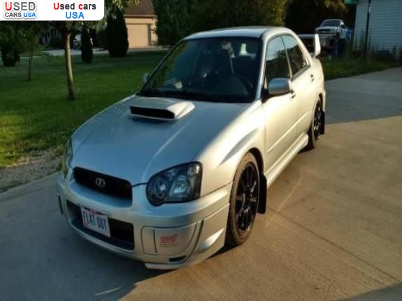 Car Market in USA - For Sale 2005  Subaru Impreza 2.5L 2458CC H4