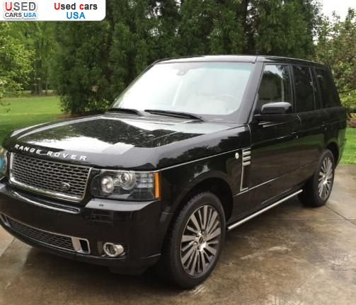 Land Rover 2012 Price: For Sale 2012 Passenger Car Land Rover Range Rover, High
