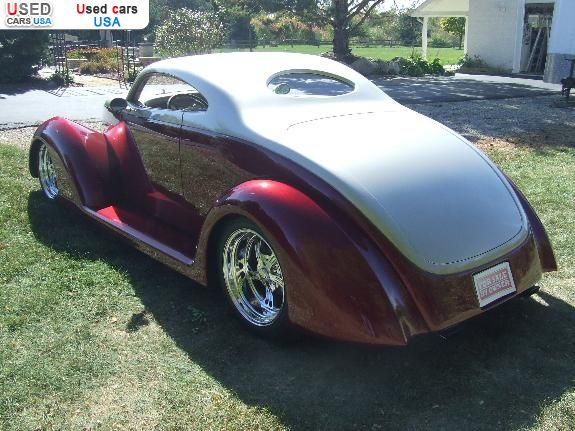 Car Market in USA - For Sale 1937  Ford Street Rod Oze