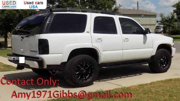 for sale 2002 passenger car chevrolet tahoe z71 4wd. Black Bedroom Furniture Sets. Home Design Ideas