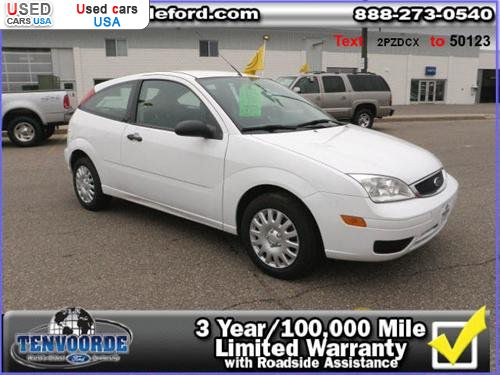 Car Market in USA - For Sale 2007  Ford Focus S 3dr