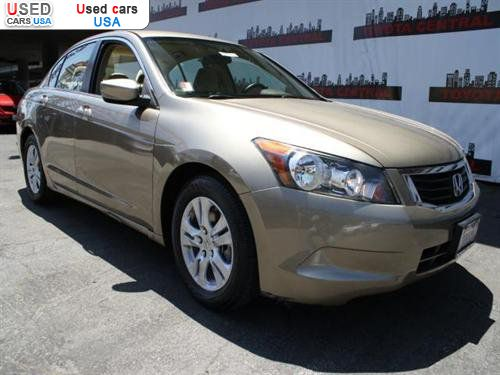 For Sale 2008 Passenger Car Honda Accord Sedan 4 Door I4