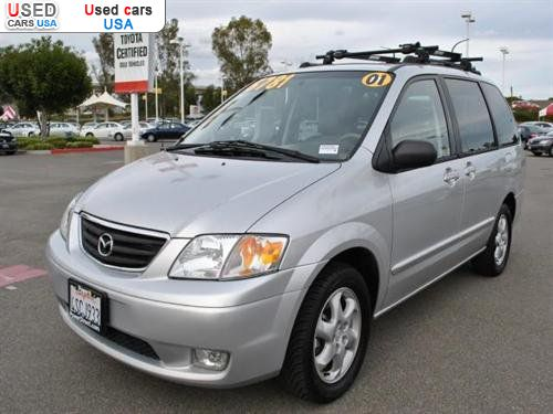 for sale 2001 passenger car mazda mpv irvine insurance rate quote price 5682 used cars. Black Bedroom Furniture Sets. Home Design Ideas