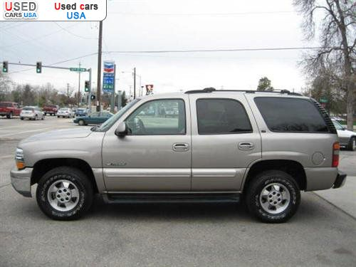 for sale 2002 passenger car chevrolet tahoe lt boise insurance rate quote price 11995 used. Black Bedroom Furniture Sets. Home Design Ideas