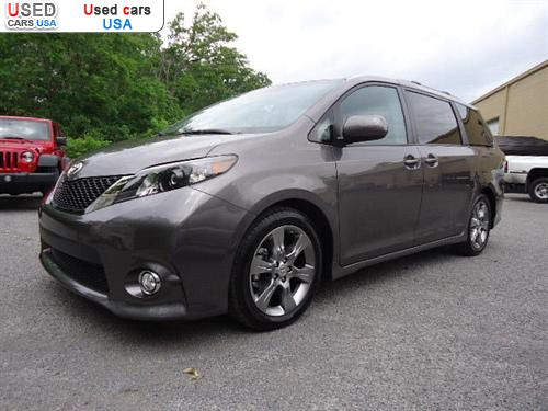 for sale 2011 bus minibus toyota sienna se chattanooga insurance rate quote price 36514. Black Bedroom Furniture Sets. Home Design Ideas