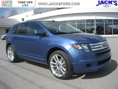 for sale 2010 passenger car ford edge sport sarver insurance rate quote price 36500 used cars. Black Bedroom Furniture Sets. Home Design Ideas