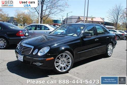 For sale 2008 passenger car mercedes e benz awd for Mercedes benz of arlington used cars