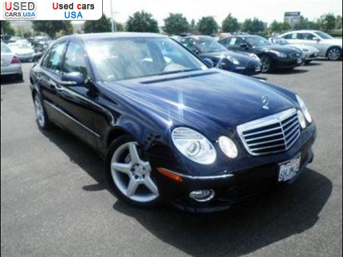 For sale 2009 passenger car mercedes e benz sport irvine for Mercedes benz insurance cost