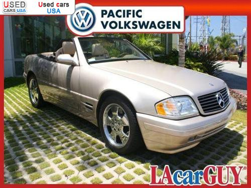 Car Market in USA - For Sale 2000  Mercedes Sl -Benz  2dr Roadster 5.0L