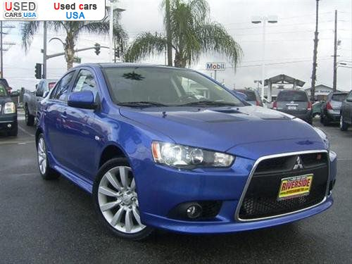 for sale 2010 passenger car mitsubishi lancer ralliart. Black Bedroom Furniture Sets. Home Design Ideas