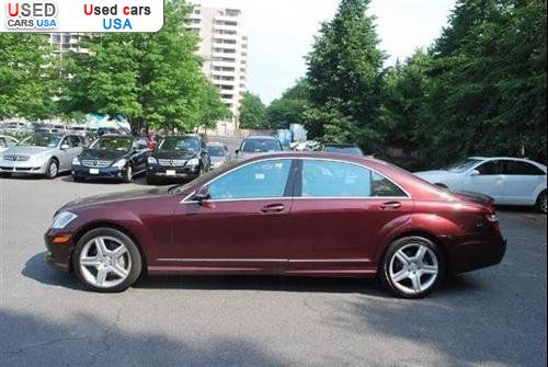 For sale 2009 passenger car mercedes s benz 5 5l v8 for Mercedes benz of arlington used cars