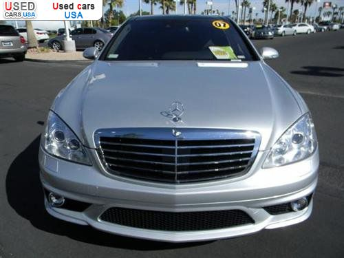 For sale 2007 passenger car mercedes s benz 6 0l v12 amg for Mercedes benz insurance cost
