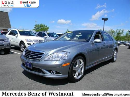 For sale 2008 passenger car mercedes s benz 5 5l v8 for Mercedes benz of westmont il