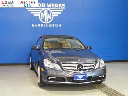 For sale 2011 passenger car mercedes e benz 3 5l for Motor werks barrington used cars