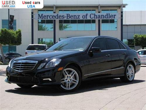 For sale 2011 passenger car mercedes e benz e550 sedan for Mercedes benz of chandler arizona