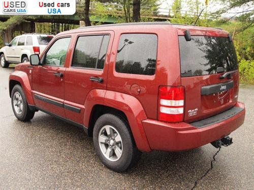 for sale 2008 passenger car jeep liberty sport  portsmouth