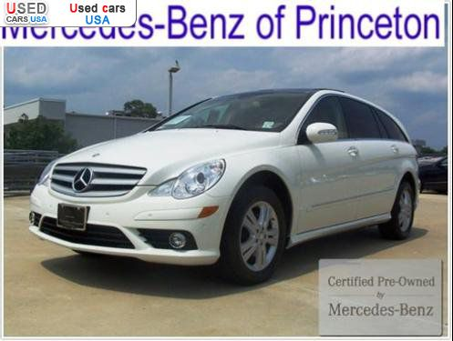 For sale 2008 passenger car mercedes r benz 3 5l for Princeton mercedes benz used cars