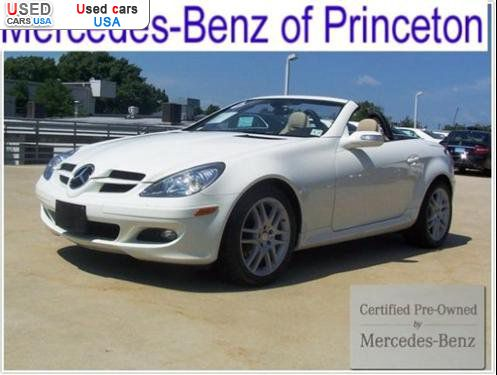 For sale 2008 passenger car mercedes slk benz 3 0l for Princeton mercedes benz used cars