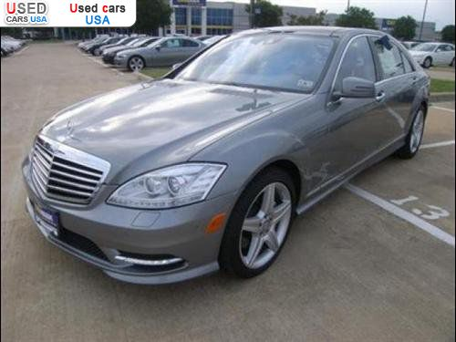For sale 2010 passenger car mercedes s benz 5 5l v8 for Mercedes benz insurance cost