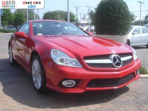 For sale 2009 passenger car mercedes sl benz v12 dallas for Mercedes benz dallas for sale