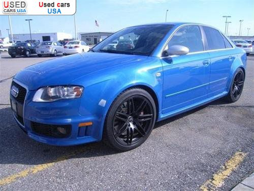 For Sale 2007 passenger car Audi RS4 quattro AWD Fargo insurance