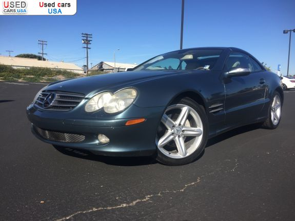Car Market in USA - For Sale 2005  Mercedes Sl 2005 Mercedes-Benz SL-Class SL500