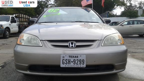 Car Market in USA - For Sale 2002  Honda Civic LX
