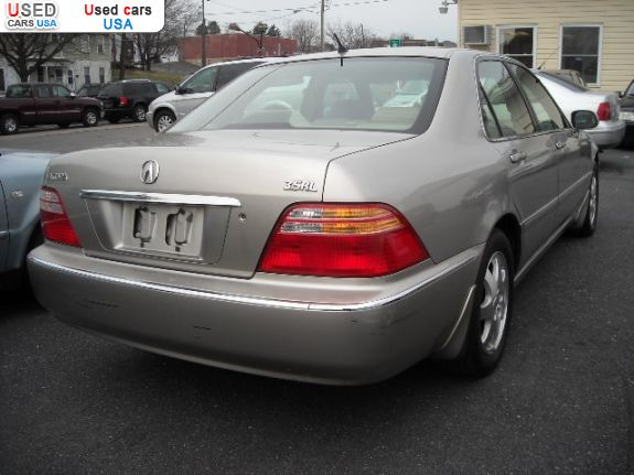 Car Market in USA - For Sale 2002  Acura RL 3.5