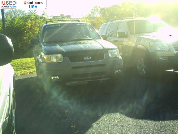Car Market in USA - For Sale 2001  Ford Escape XLT