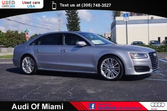 Car Market in USA - For Sale 2017  Audi A8 L 3.0T quattro