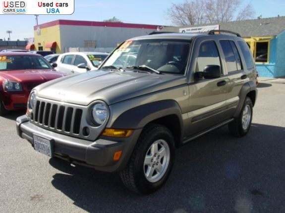 for sale 2006 passenger car jeep liberty sport victorville insurance rate quote used cars. Black Bedroom Furniture Sets. Home Design Ideas