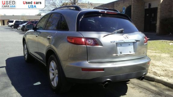 Car Market in USA - For Sale 2005  Infiniti FX 35 AWD