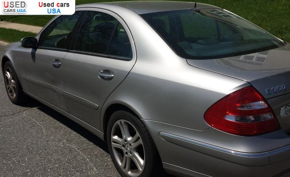 For sale 2006 passenger car mercedes e 2006 mercedes benz for Mercedes benz insurance cost