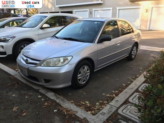 Car Market in USA - For Sale 2004  Honda Civic