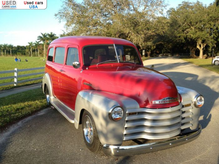 Car Market in USA - For Sale 1950  Chevrolet Suburban