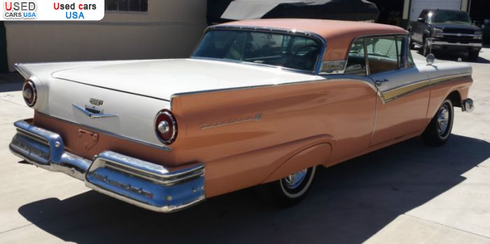 Car Market in USA - For Sale 1957  Ford Fairlane