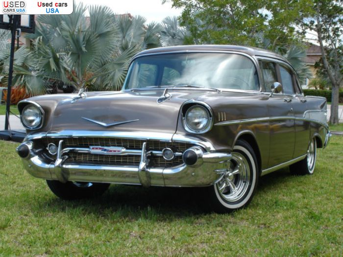 For Sale 1957 Passenger Car Chevrolet Bel Air Homestead Insurance