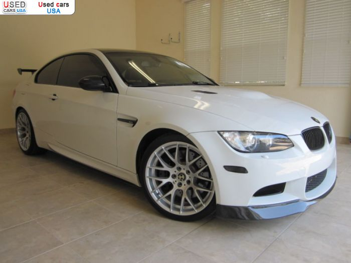 Car Market in USA - For Sale 2011  BMW M3