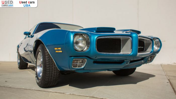 Car Market in USA - For Sale 1970  Pontiac Firebird
