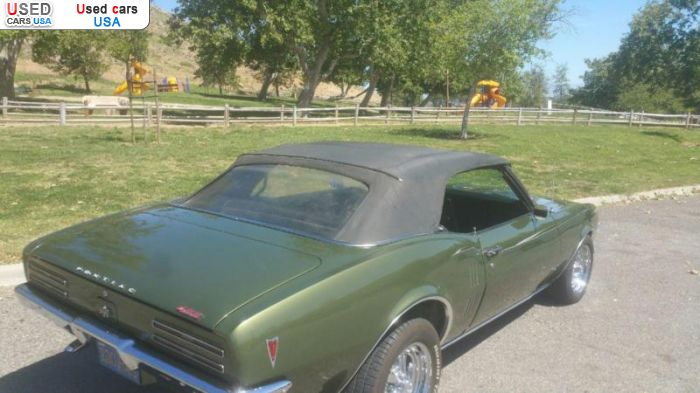 Car Market in USA - For Sale 1968  Pontiac Firebird