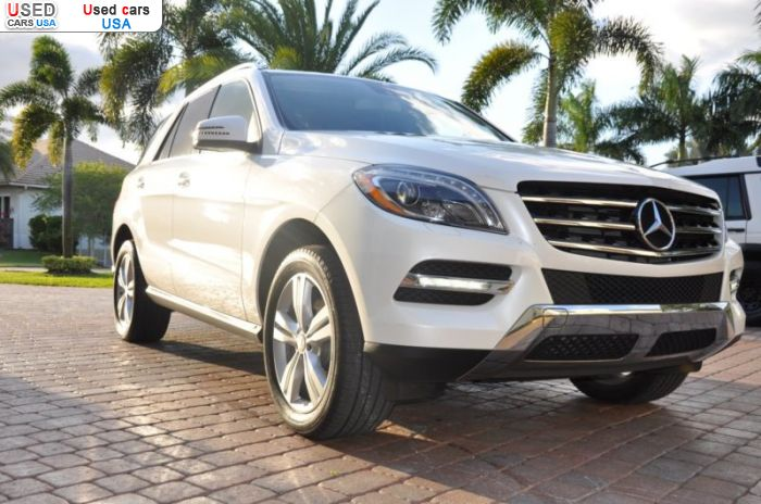 Car Market in USA - For Sale 2013  Mercedes ML 350