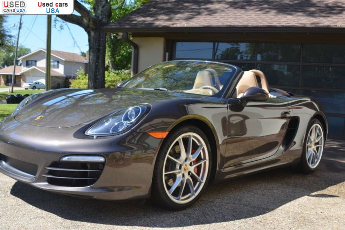 Car Market in USA - For Sale 2013  Porsche Boxster
